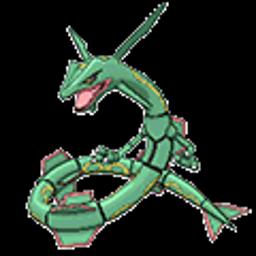 Rayquaza, dragon type
