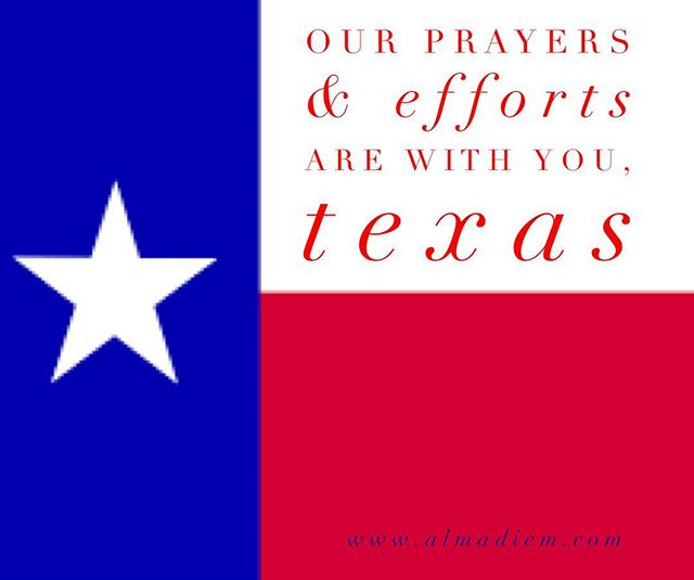 Our thoughts, prayers, and efforts are with you.❤️#hurricanharvey