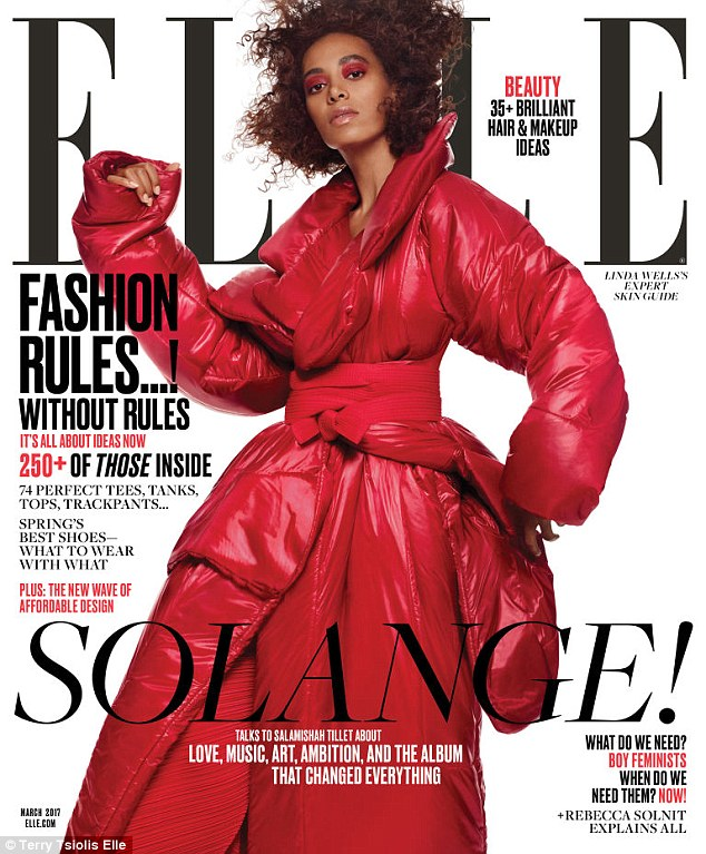 Solange Knowles for Elle March 2017