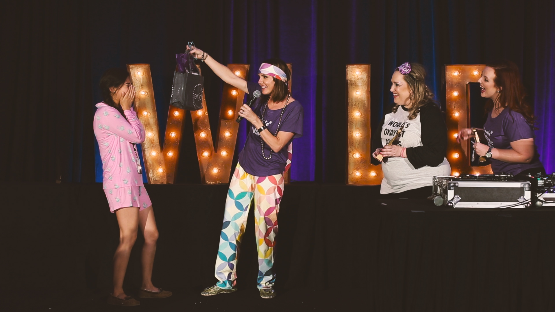 Erin Condren presented this extra special award and partied the night away with everyone in her lounge at the Planjama.