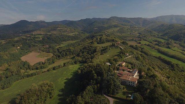 #firenze #aerialphoto #agriturismo #fattoria @djiglobal