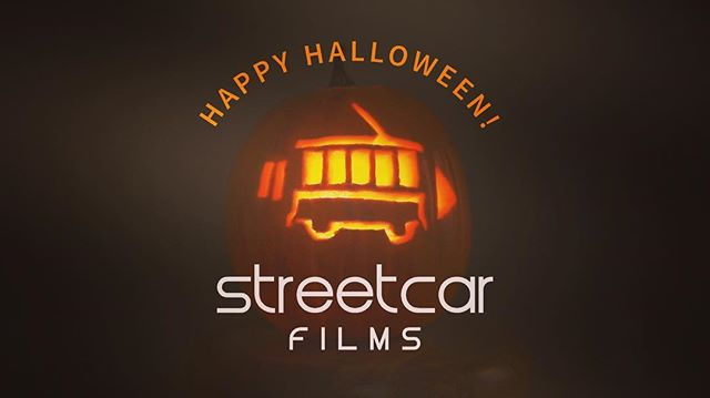Happy Halloween from the #StreetCarFilmsTeam !! Hope everyone has a great night!! #streetcarfilms #halloween