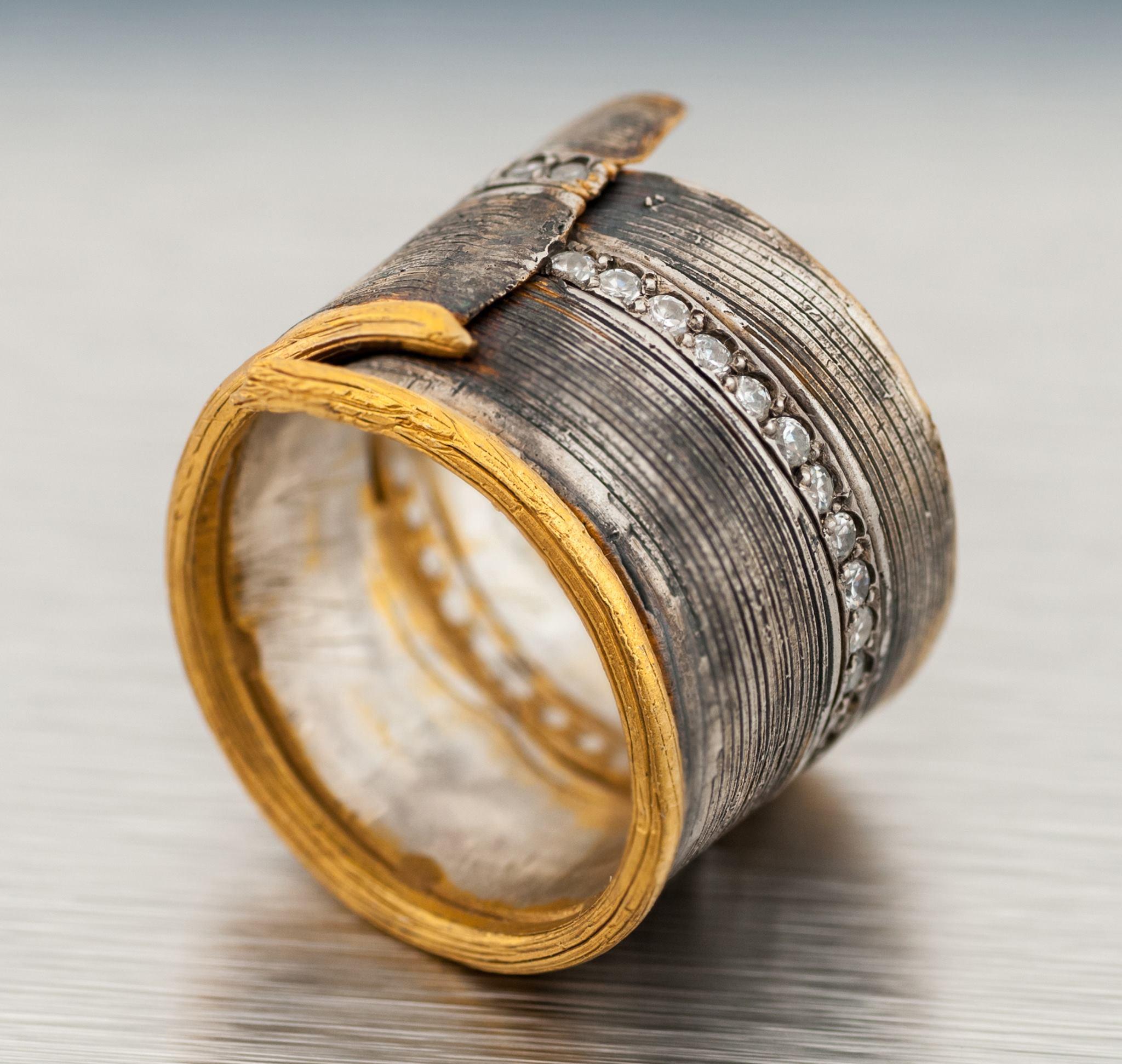 David Chkheidze's Original Ring Design