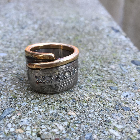 My Mother's New Ring -Recreation of David's Original Ring Design.