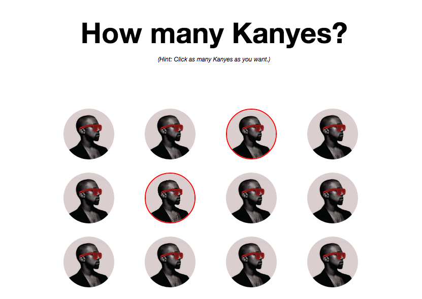 Click here to find out how Kanye you are.