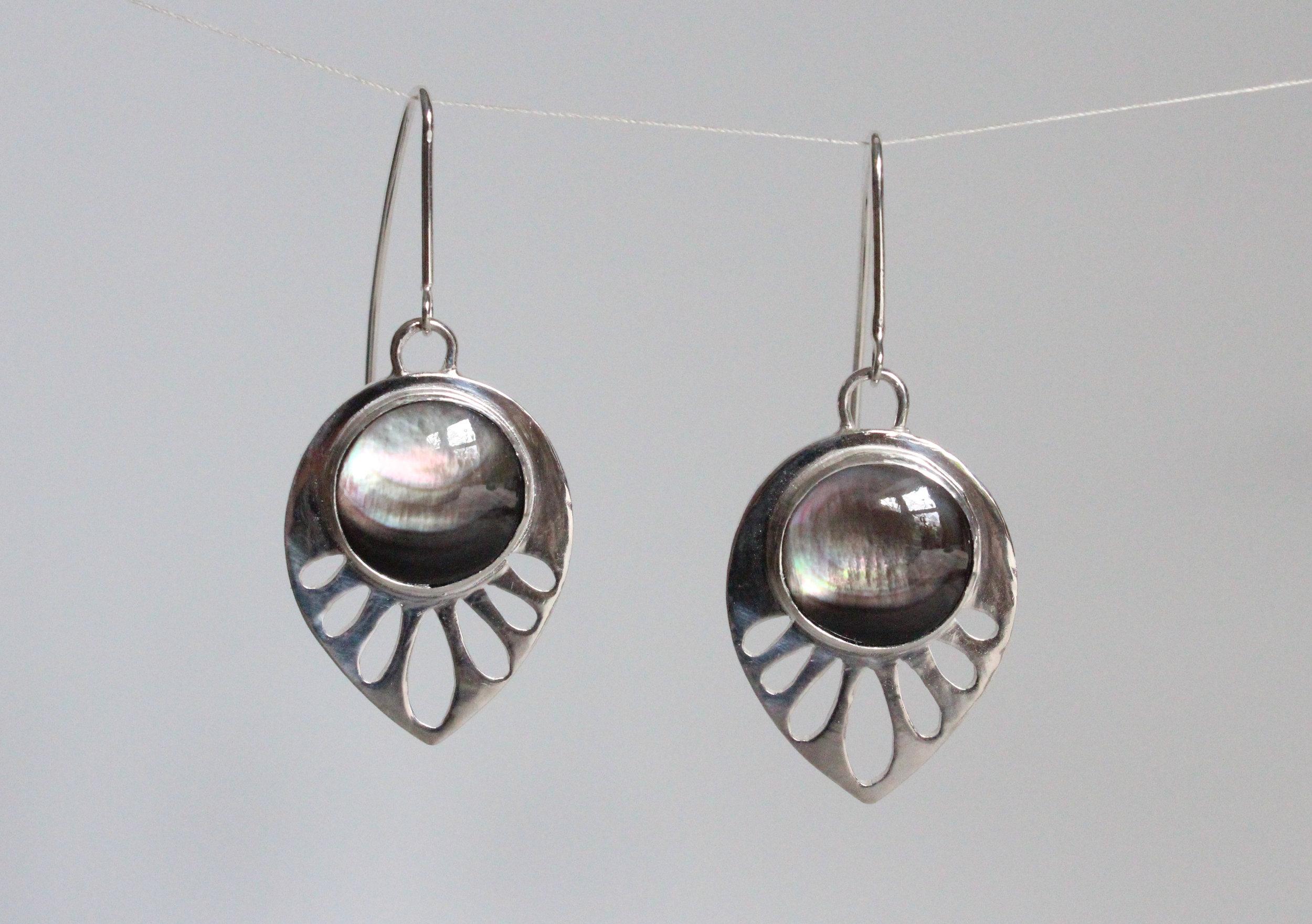 Custom Art Deco Earrings