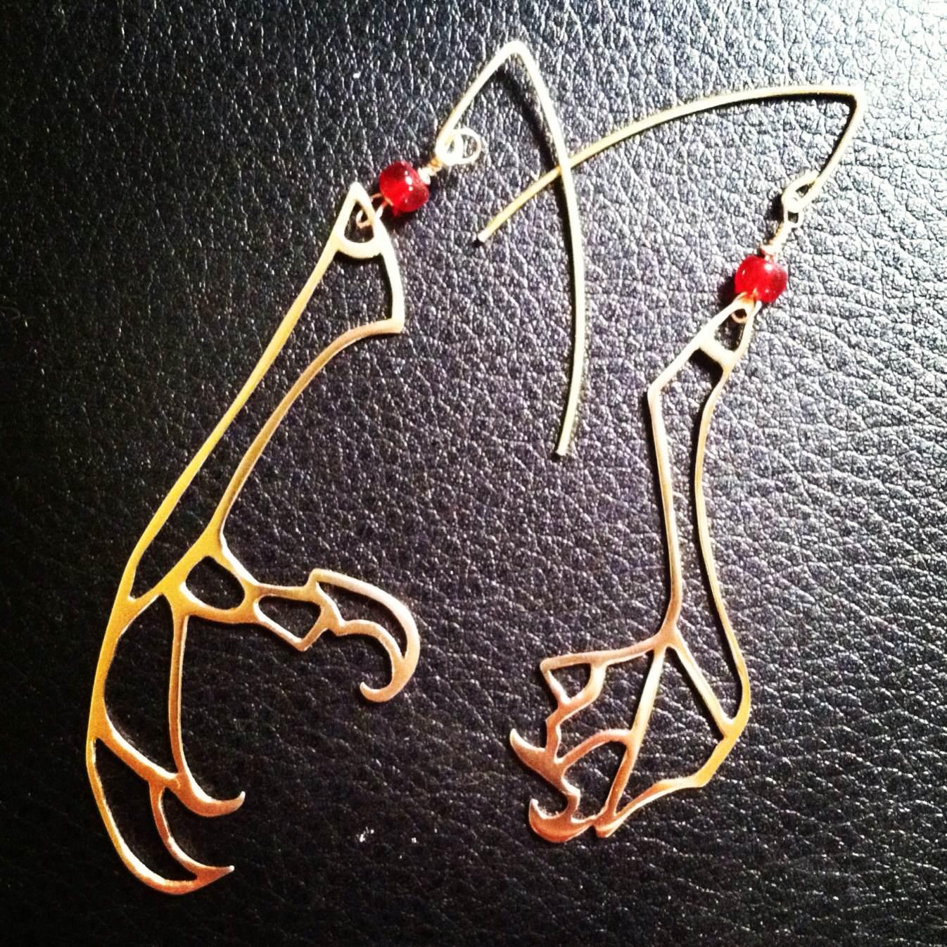 Bird Claw Earrings