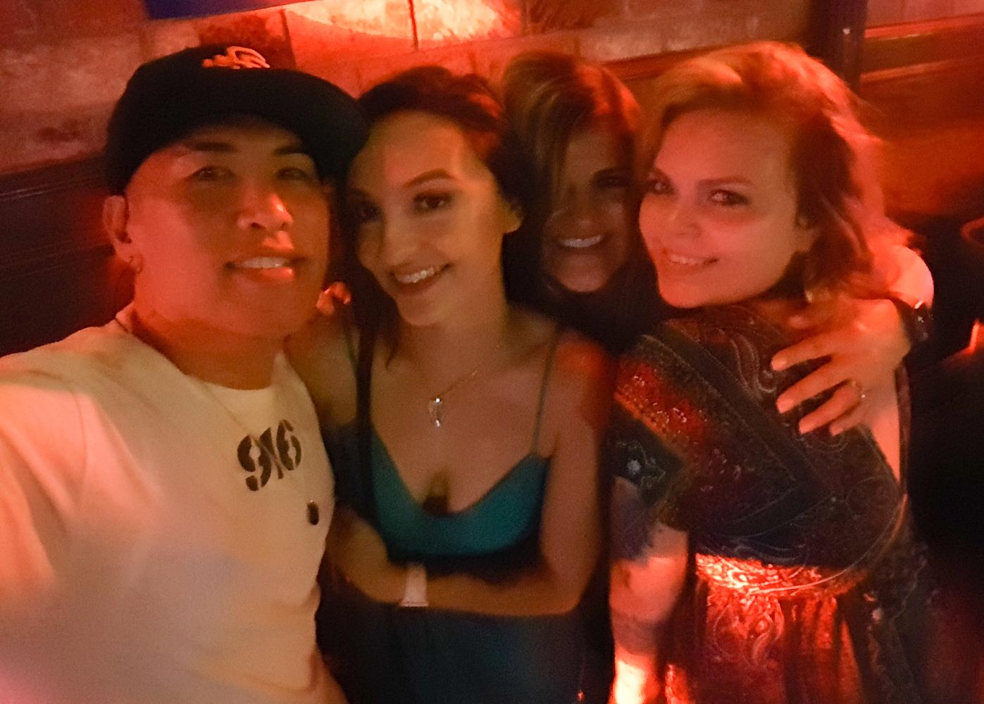 Kayla, Pam, and Kasey