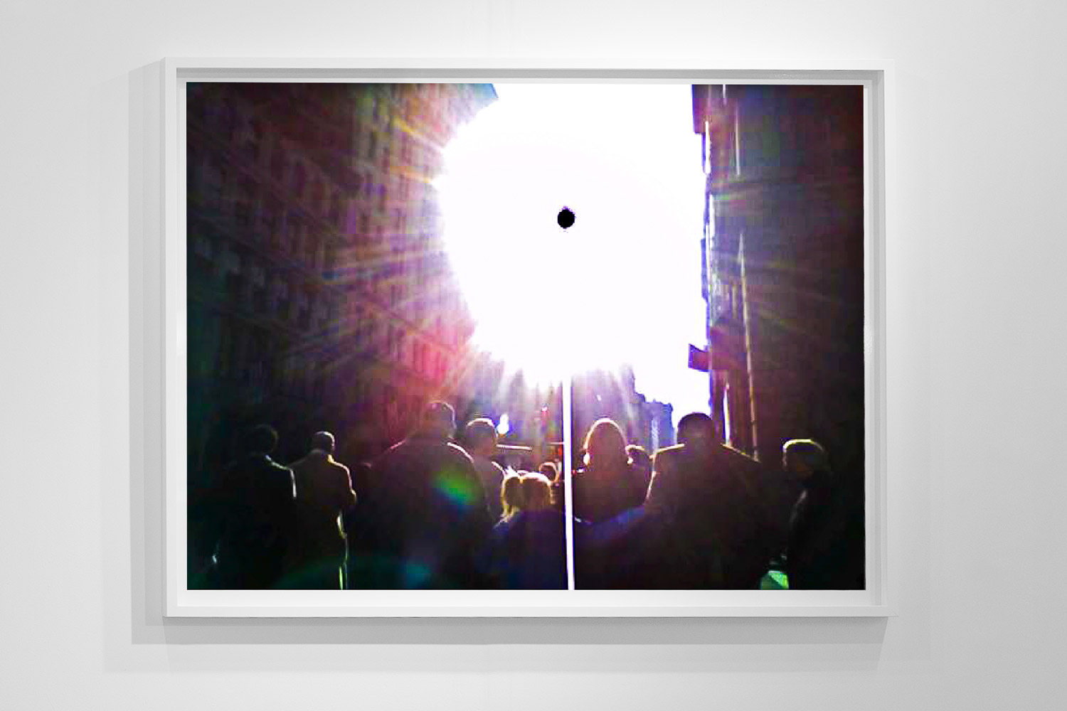 'Black Sun 0181,'48 x 64 inch,c-prints on diasec in wood frame, Black Sun Project, at Bas Fisher Invitational, 2008.