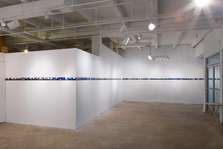 'Infinite Black Suns,'104, 4 x 6 inch c-prints,Black Sun Project, at Bas Fisher Invitational, 2008.
