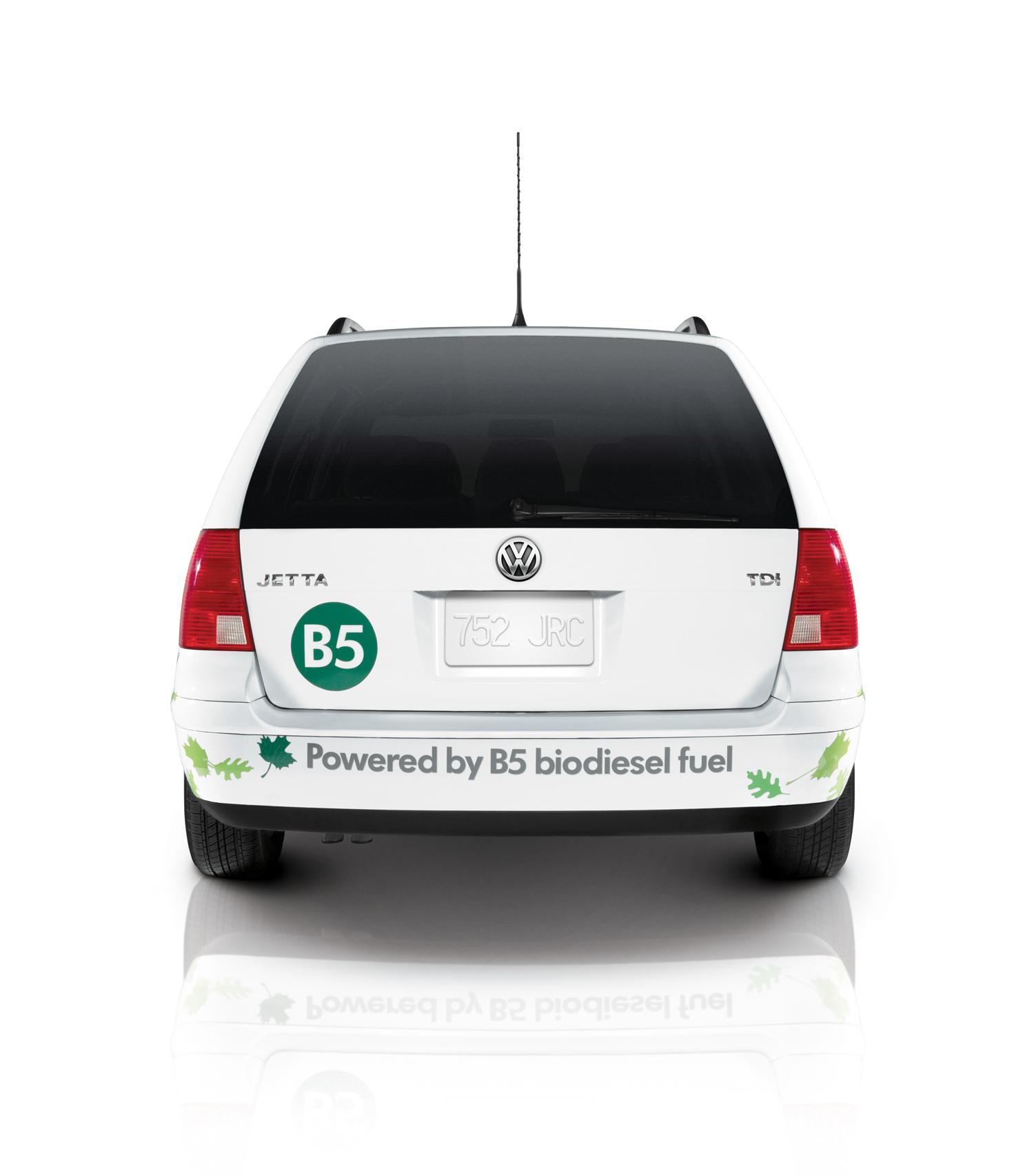 Volkswagen, Jetta BioDiesel TDI, rear view