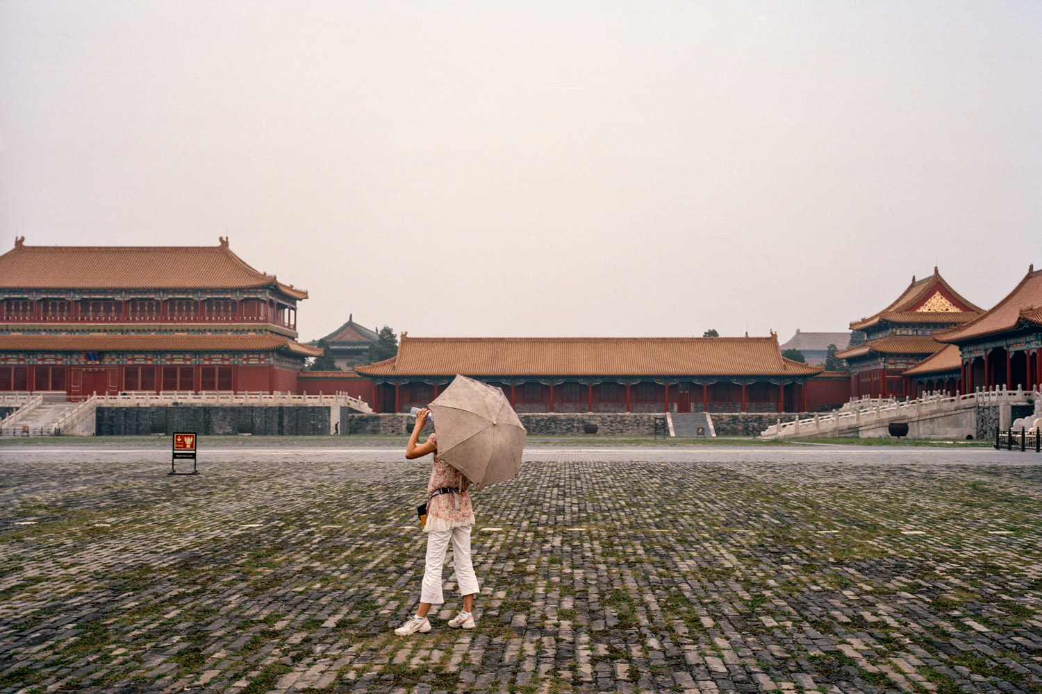 Girl at the Forbidden City