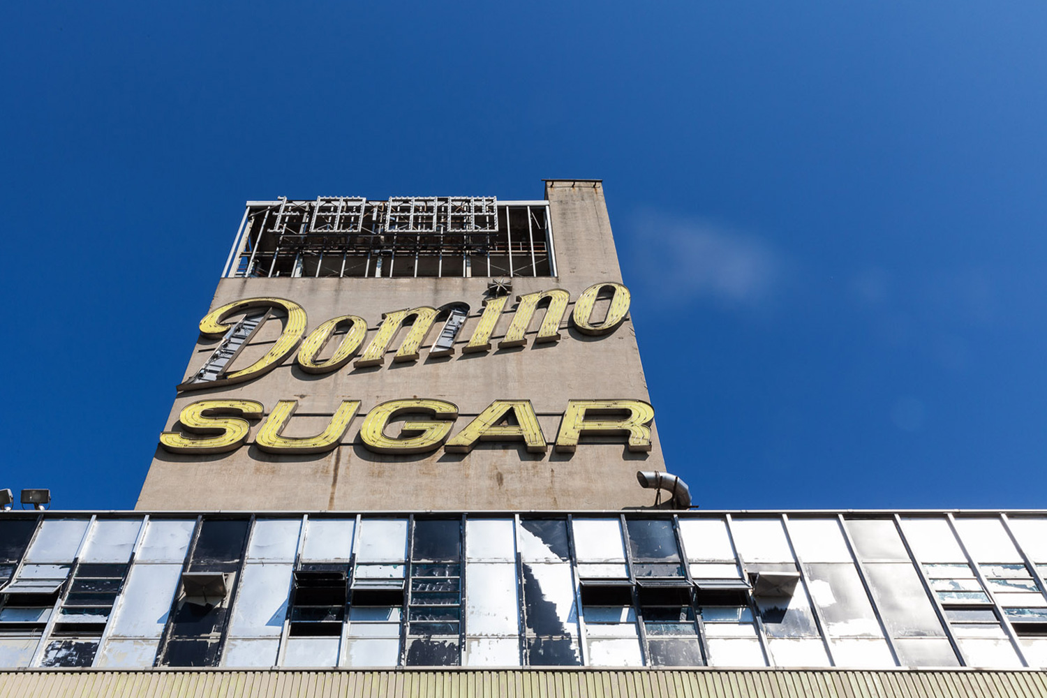 Domino Sugar Sign, Domino Sugar Factory