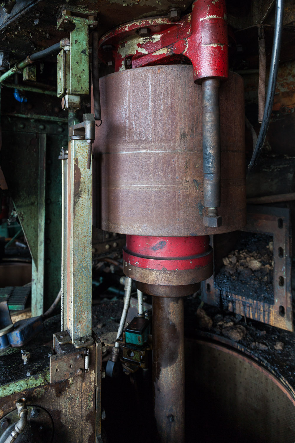 Roberts Centrifugal Machine, Second Floor, Raw Sugar Wash House, Domino Sugar Factory