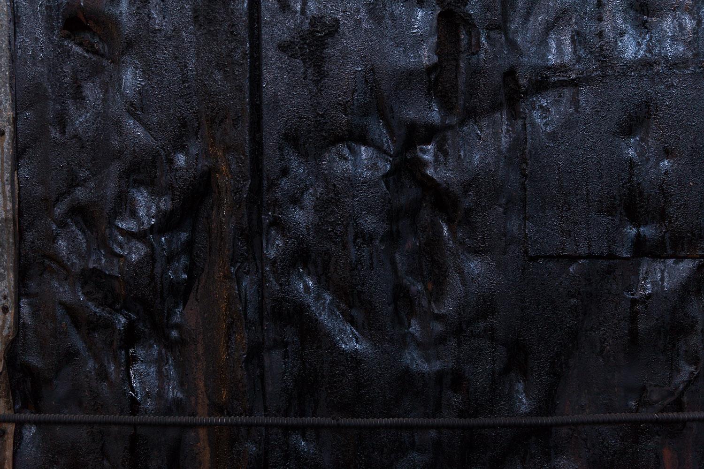Rusted Sugar Wall 2,Raw Sugar Warehouse,Domino Sugar Factory