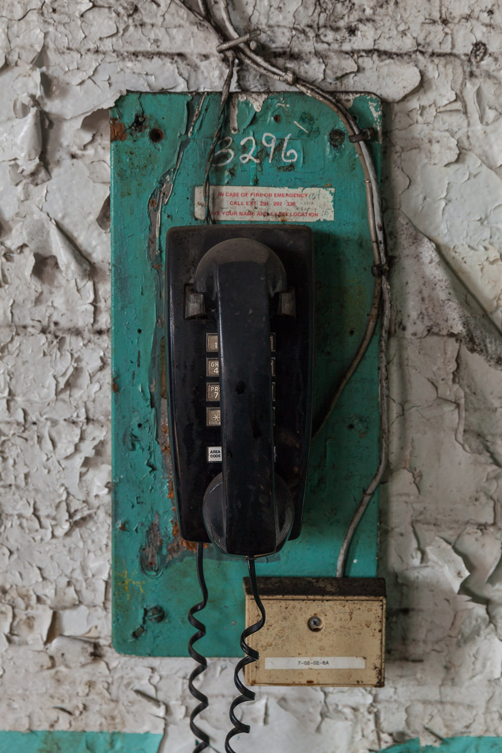 Touchtone Phone Extension 3296, Raw Sugar Wash House — First Floor, Domino Sugar Factory