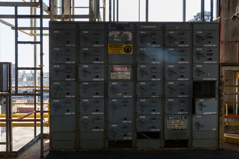 Control Cabinets,Bin Structure,Domino Sugar Factory