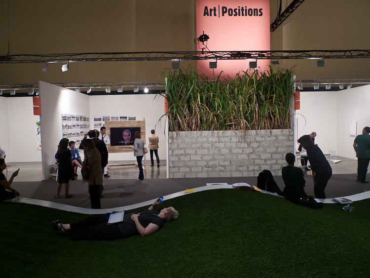 Art Basel Miami Beach 2011, Art Positions park-like-lounge area