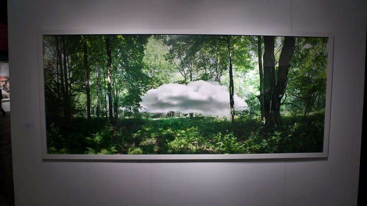 Dietrich Wegner, Studies in Solitude, Cloud 1 at Carrie Secrist Gallery