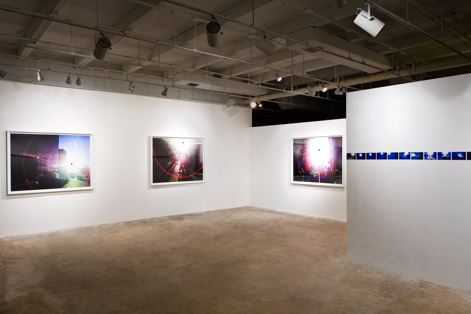 black sun project, gallery view, 2008 © harlan erskine