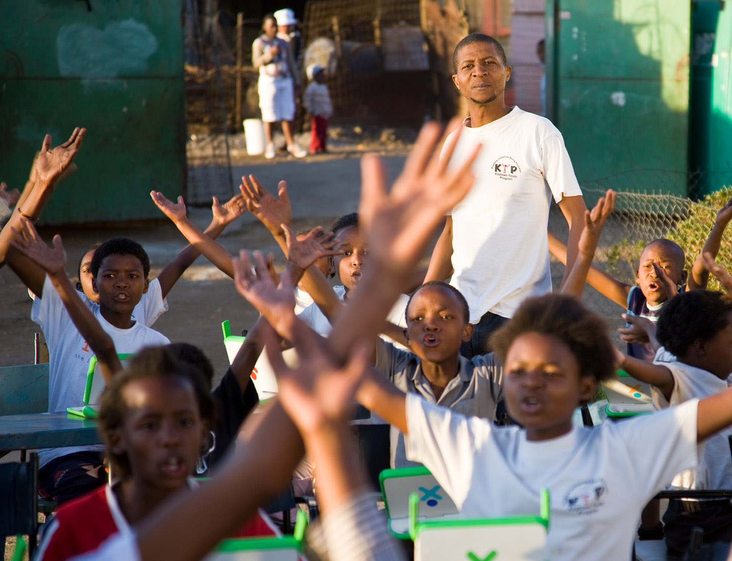 ©2008 harlan erskine, Teacher, Kliptown Youth Project, Johannesburg, South Africa