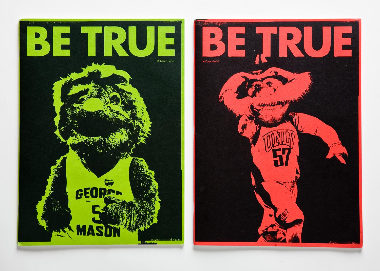 Nike,  Be True Zine.