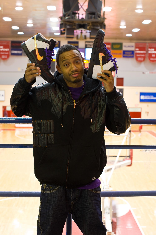 Terrence J, Nike,  Be True Zine. Images © harlan erskine