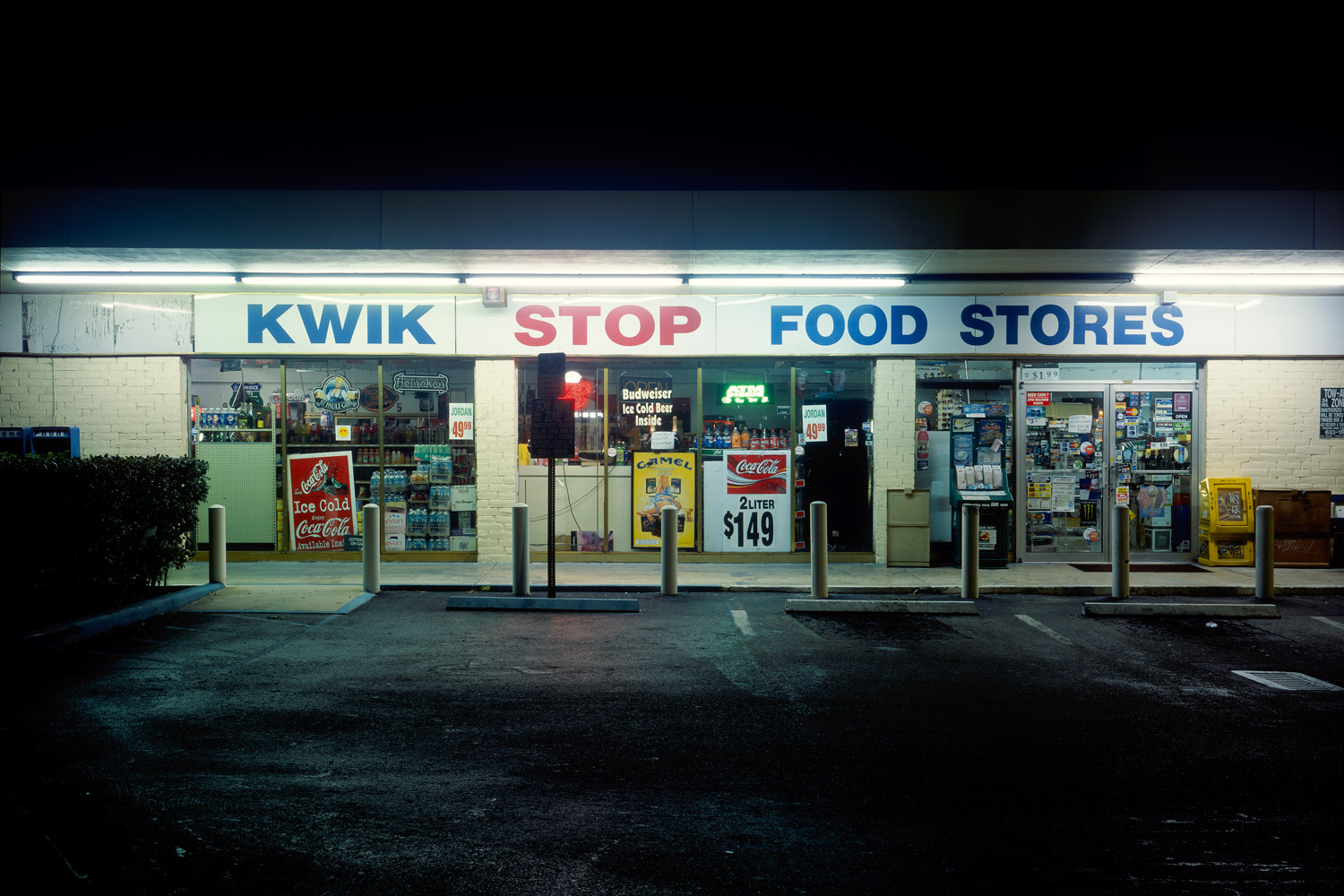 harlan erskine, ten convenient stores, '#203,' c-print, 20 x 30 inches, 2004