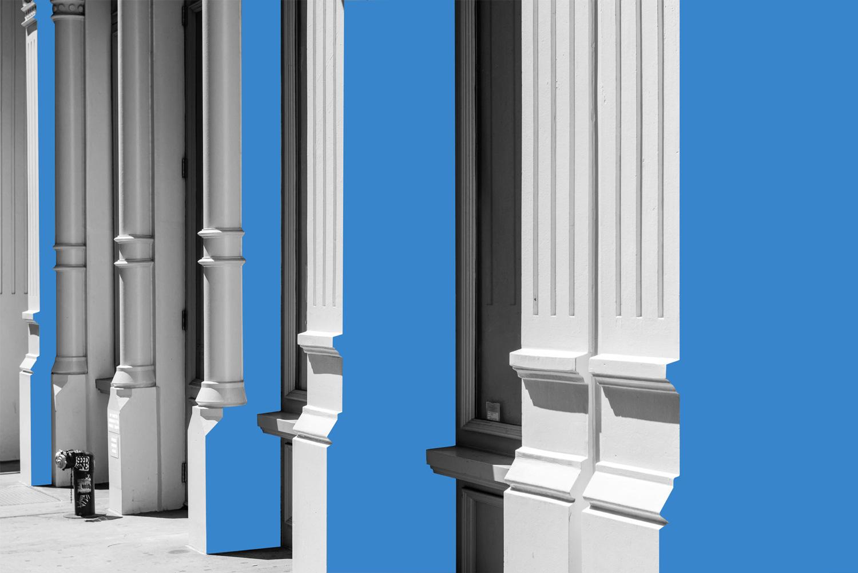 Columns, SoHo, New York City