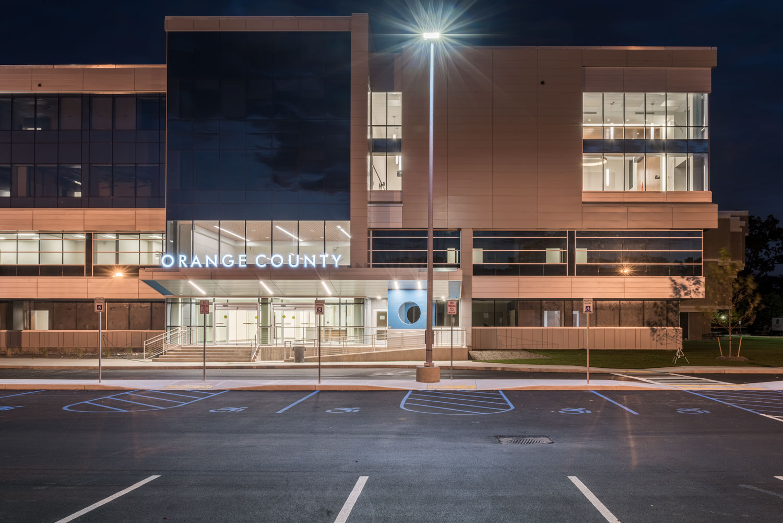 Orange County Government Center, October, 2017. © harlan erskine.