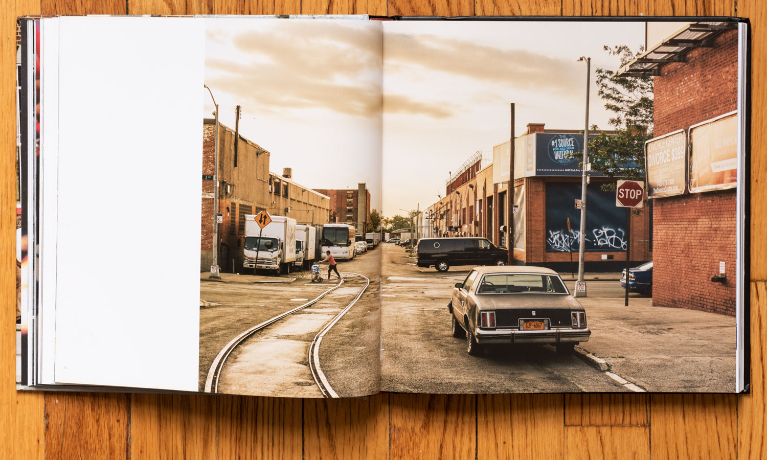 July on 2nd Avenue by My Studio in Sunset Par k. Pages 72–73. © harlan erskine 2018.