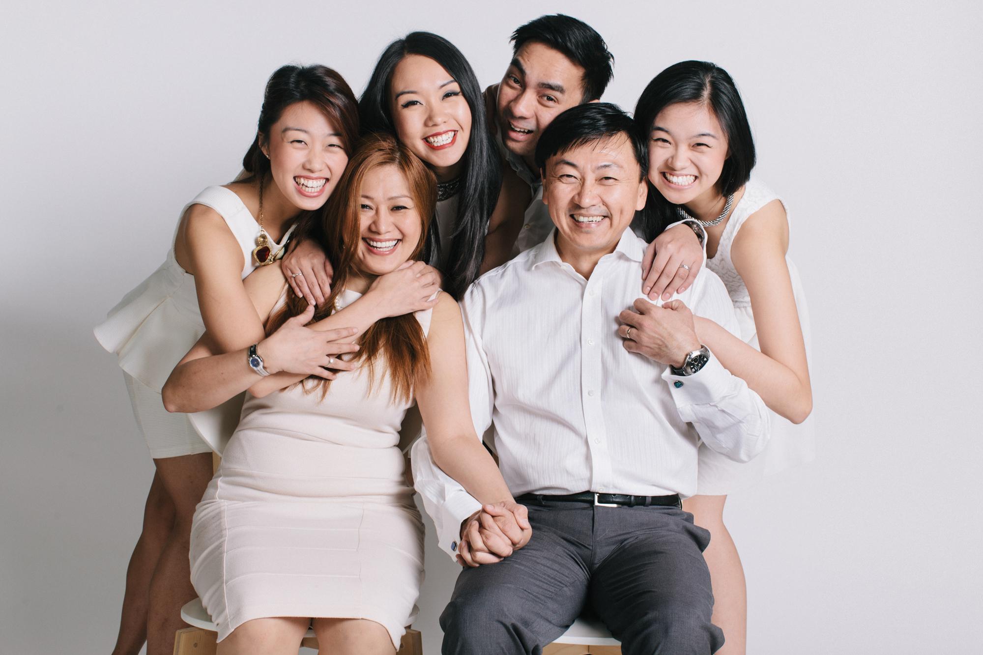 Malisse Studio Family Portrait