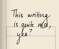 My handwriting on Noteshelf. Evernote can read this! Can you?