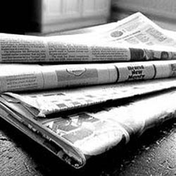 Newspapers - photo from  John S