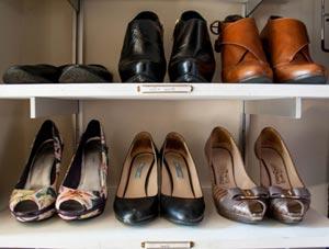 My Rakks shoe shelves