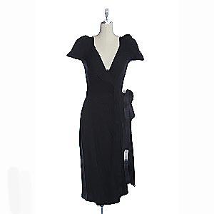 DVF wrap dress,  USD$76