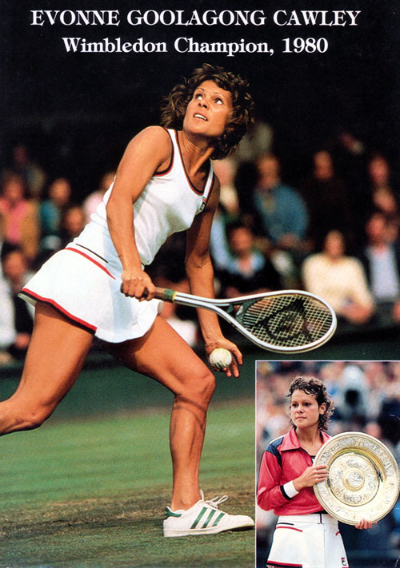 Winning Wimbledon in 1980 for the second time