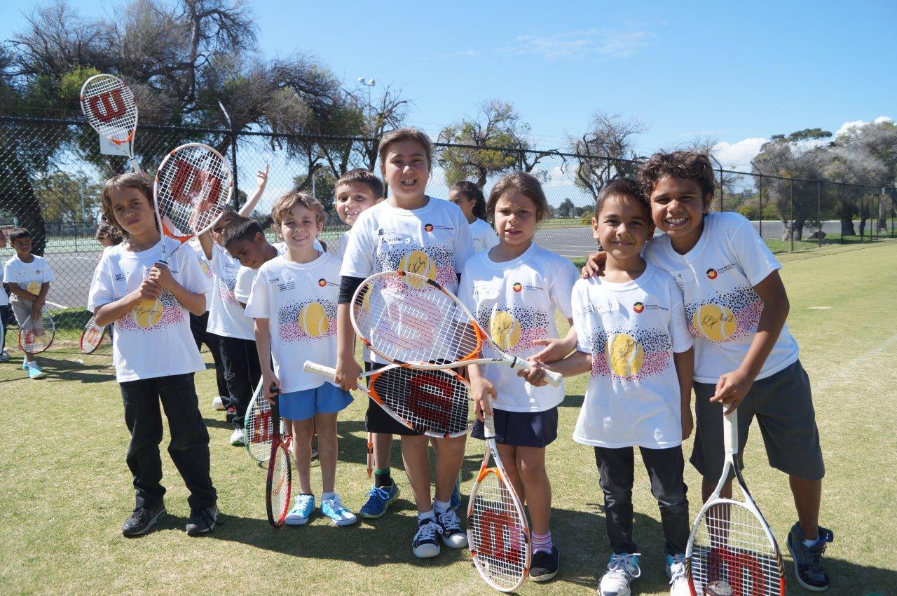Future tennis champions and University Scholars?