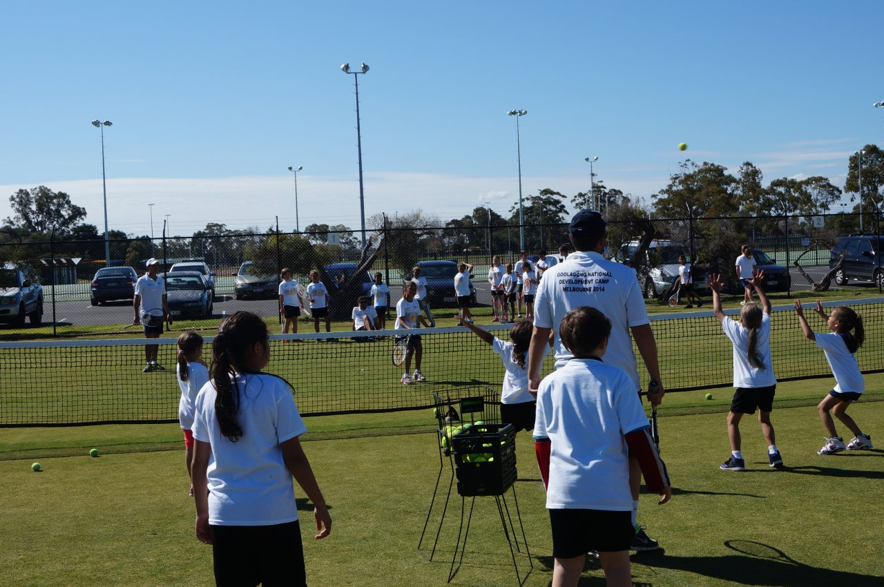 Combing cricket and tennis on the courts