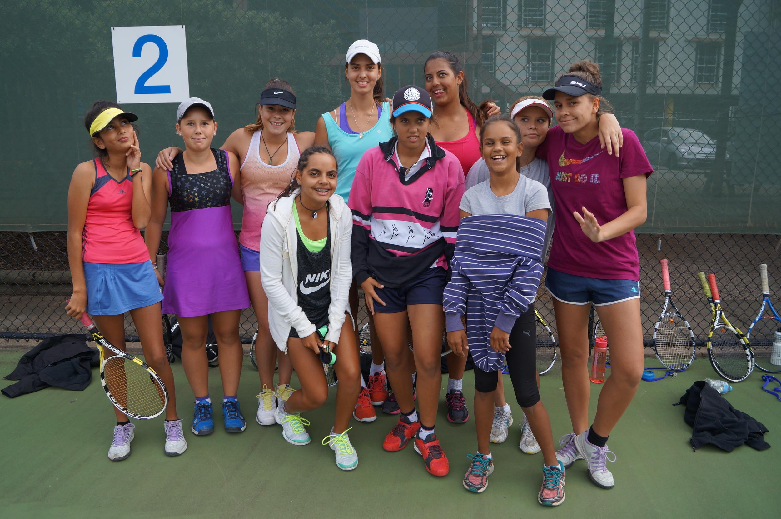 Girls get together at GNDC 2015