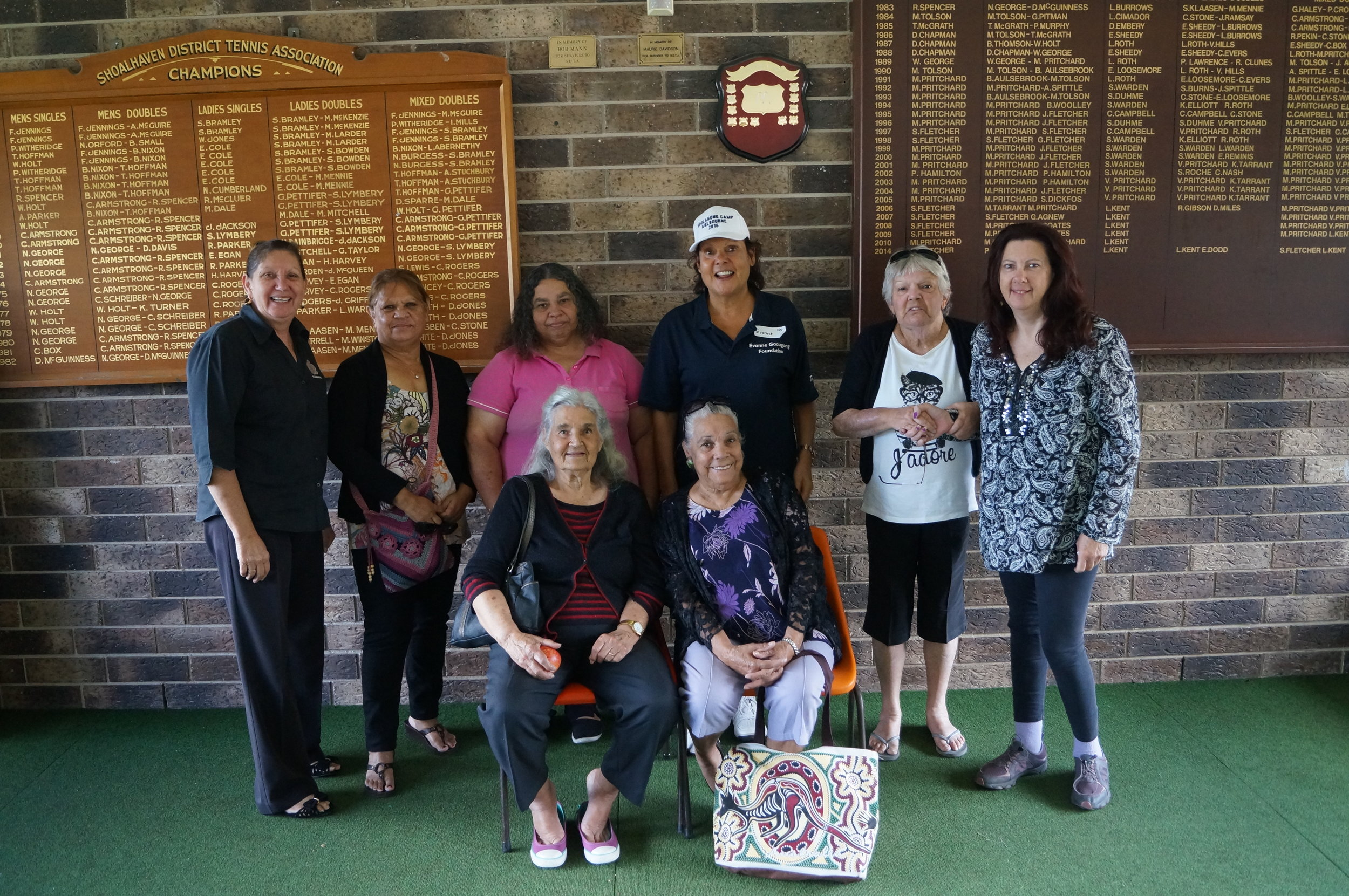 Local elders welcome Evonne to Nowra