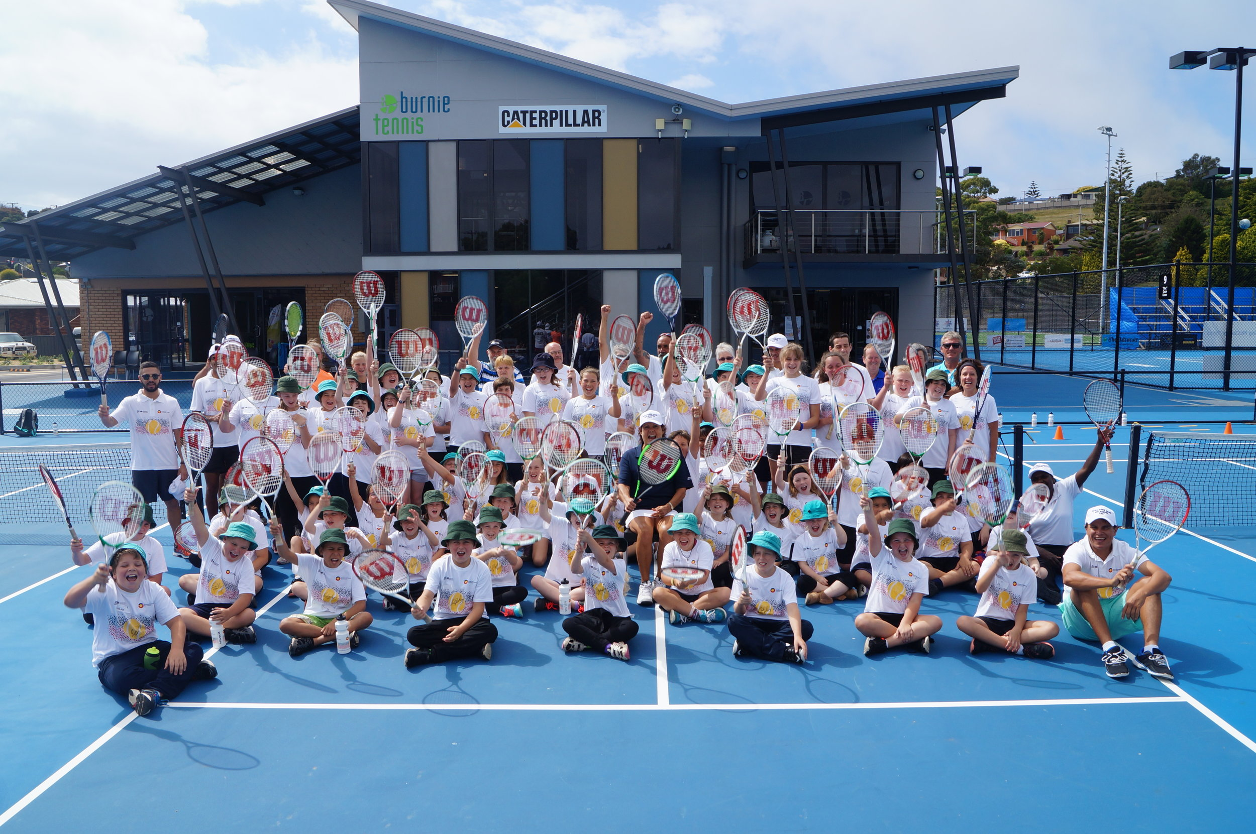 A BIG thanks to Danny and Chris and all at Burnie Tennis for hosting a wonderful day, our first in Burnie!