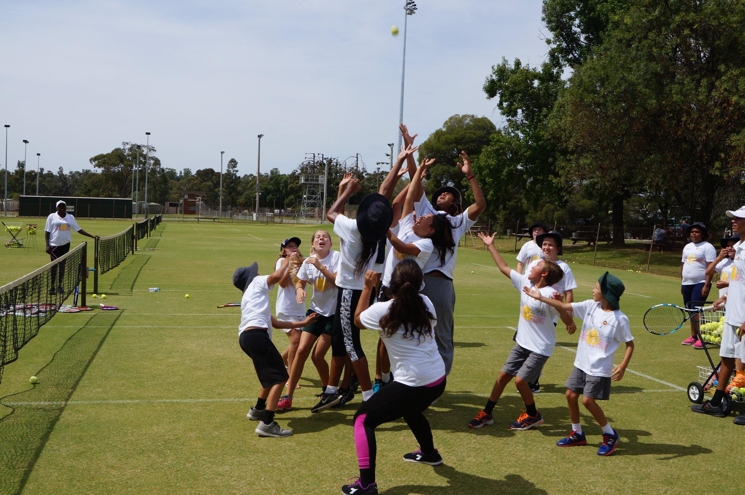 Leaping to survive at Cricket - Tennis!