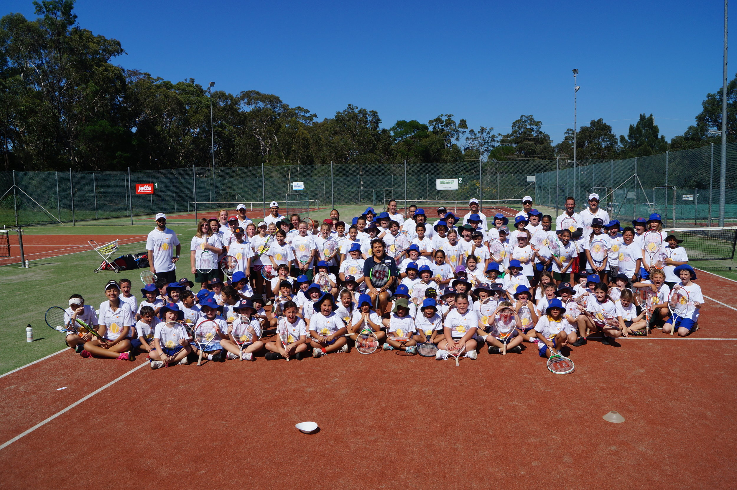 116 girls and boys enjoy the Nowra Come and Try Day, Special thanks to Kiwi and Col!
