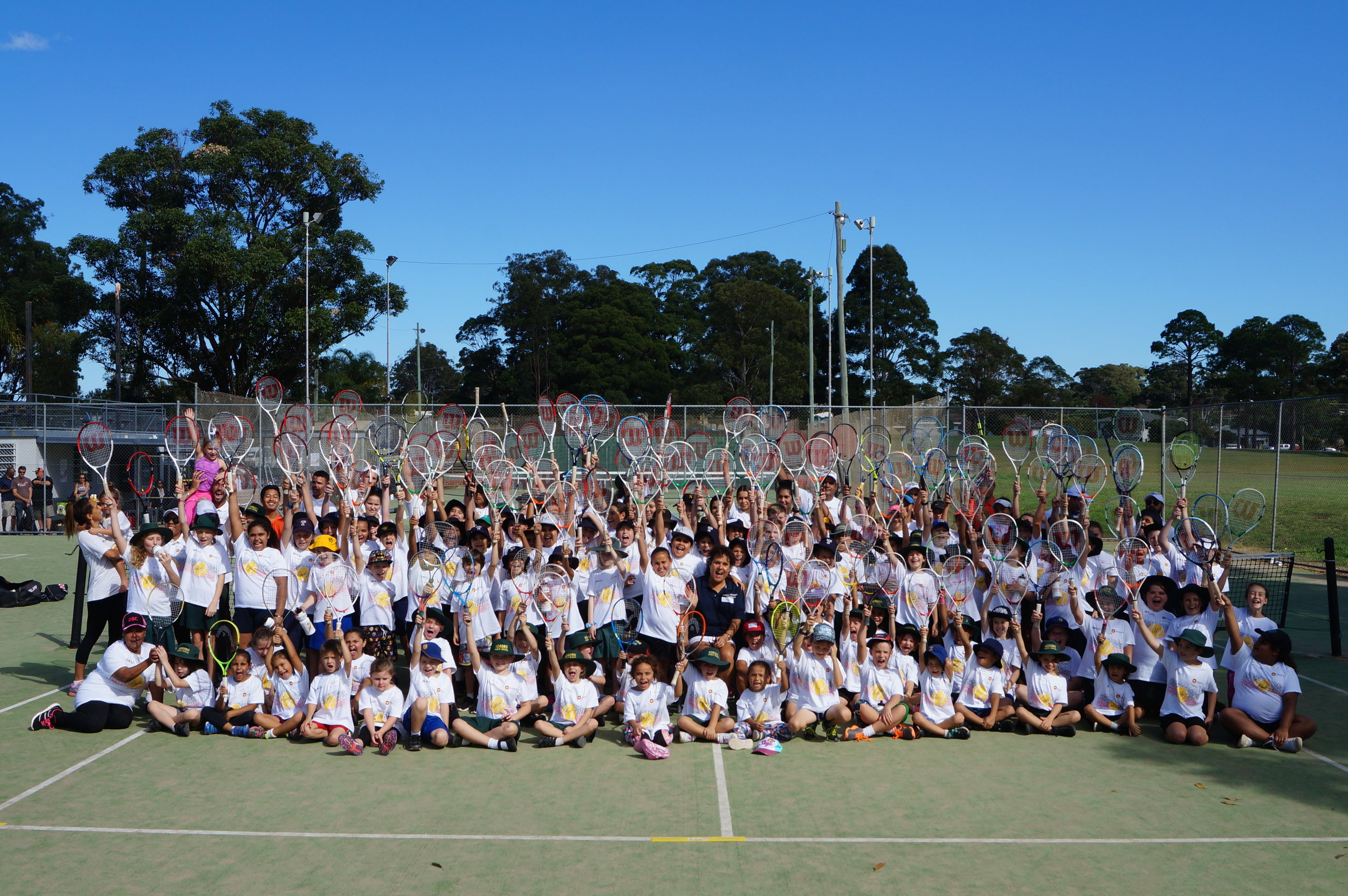 126 kids plus coaches go nuts at beautiful Coffs