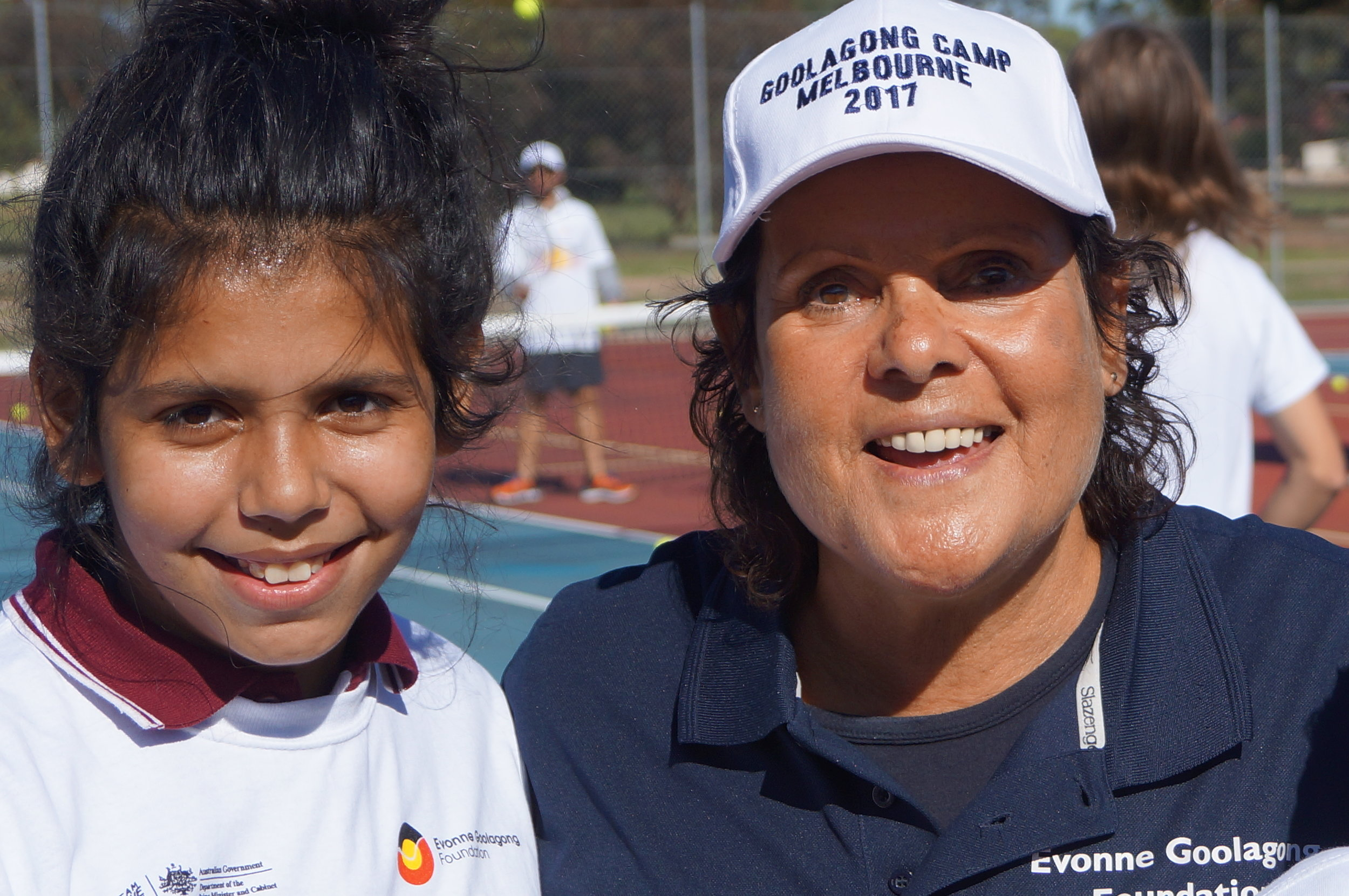 Angel aged 12 from Murray Bridge with the Boss