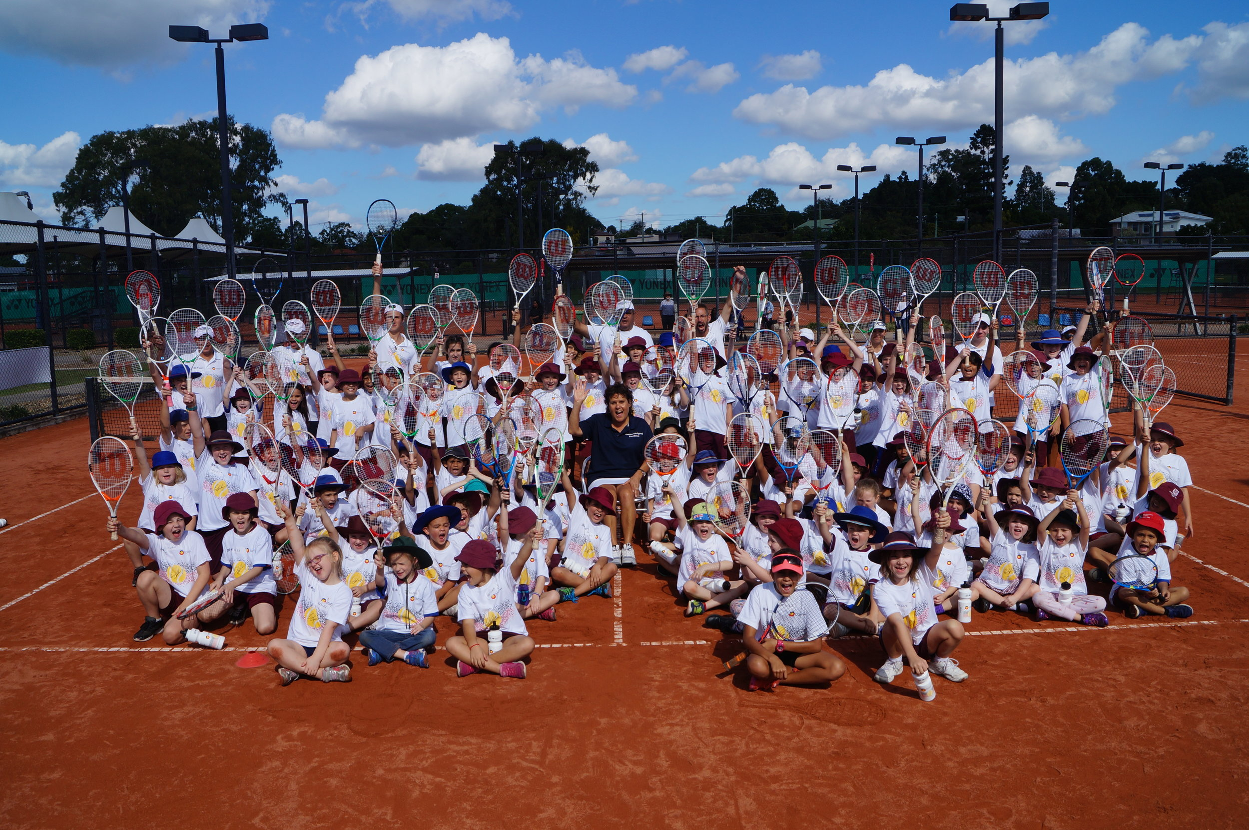 Back on the clay with the kids in Ipswich