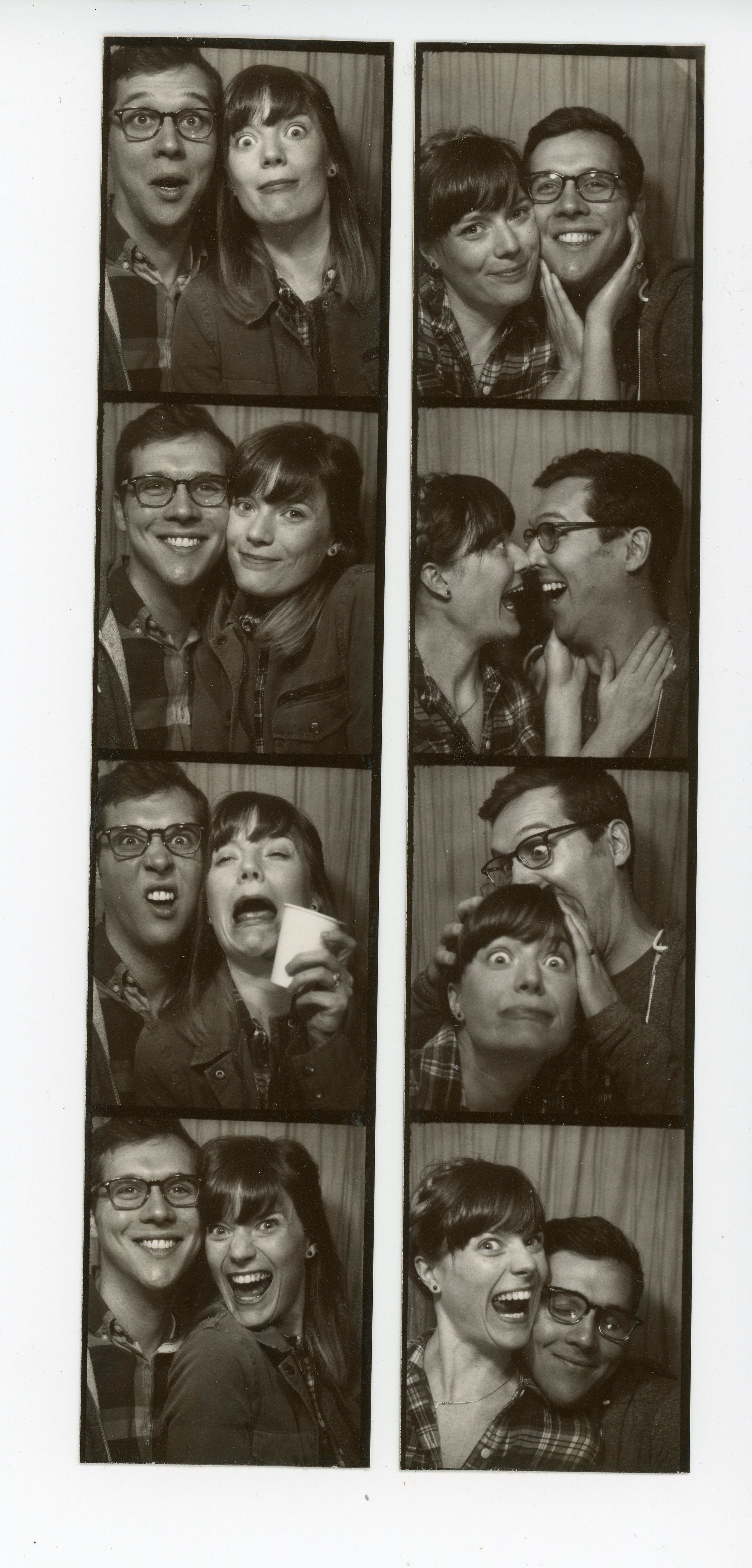 photobooth pics from the ace hotel in nyc this may after NSS