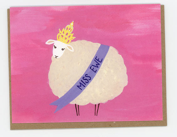 i heart animal puns <3 ~ you can snag this card from my etsy store OR AT YOUR LOCAL PAPER SOURCE!!! OMGGG! <3