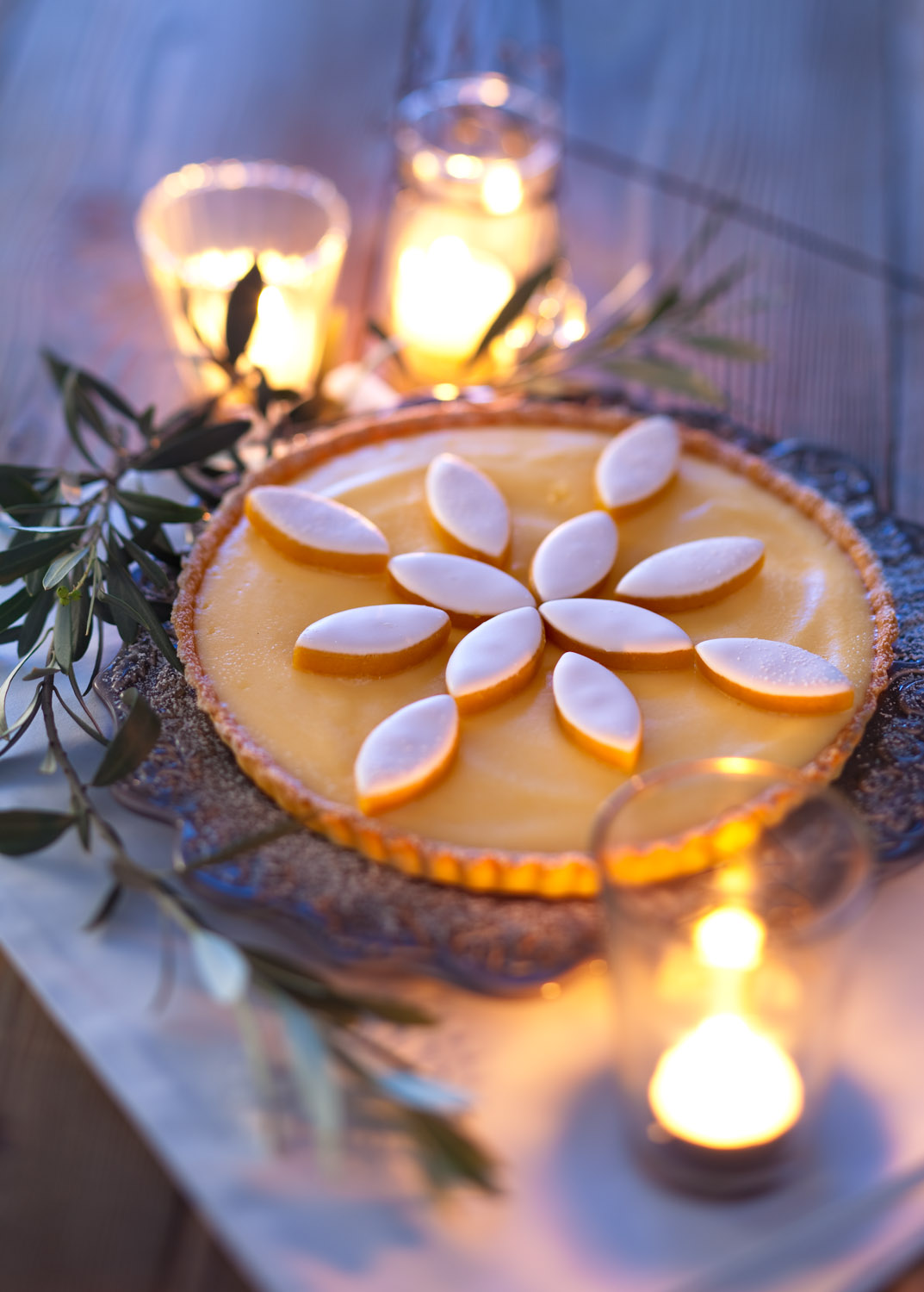 tarte citron calissons